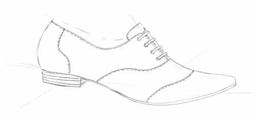 shoe design of oxfrod