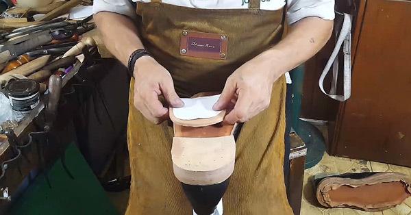 making stacked heels