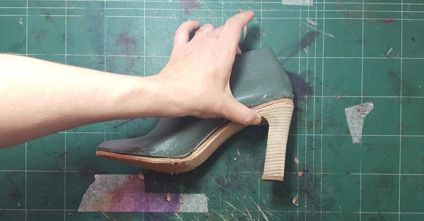 perfect fitting heel