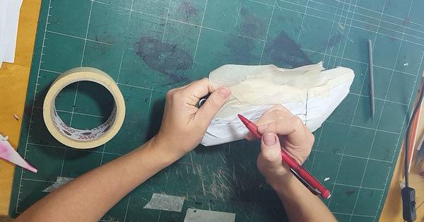 shoe pattern reconstruction