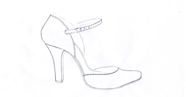 Drawing-of-sandals