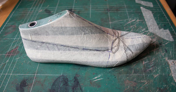 students work, flat ballet shoes