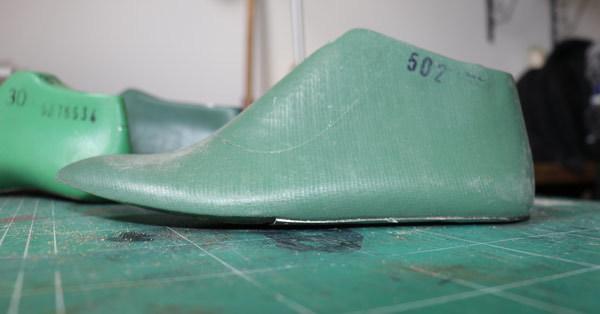 flat wedge of a shoe last