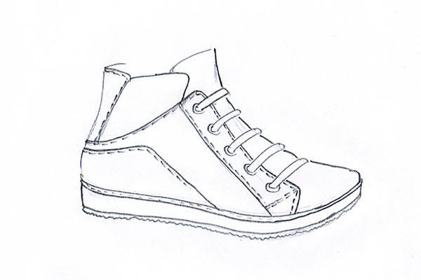 sneakers sketch 06