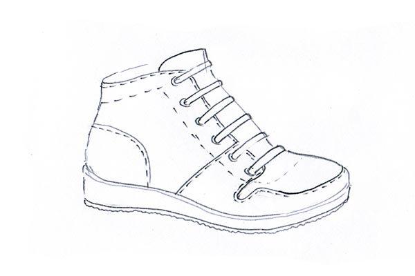 sneakers sketch 08